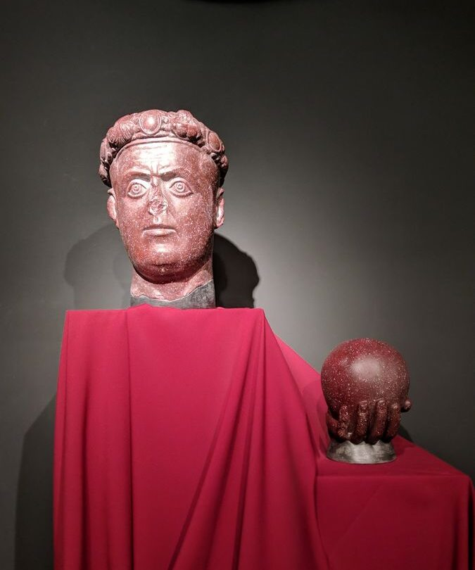 Galerijeva glava u profiru, Narodni muzej Zaječar, foto: Uroš Nedeljković