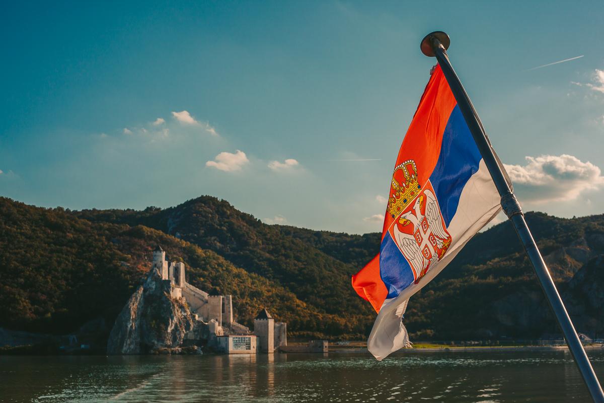 Golubačka tvrđava sa Dunava, foto: Tanja Tepavac
