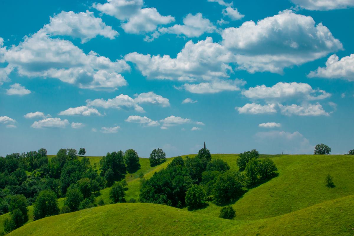 Zagajička brda sa oblačićima, foto: Tanja Tepavac