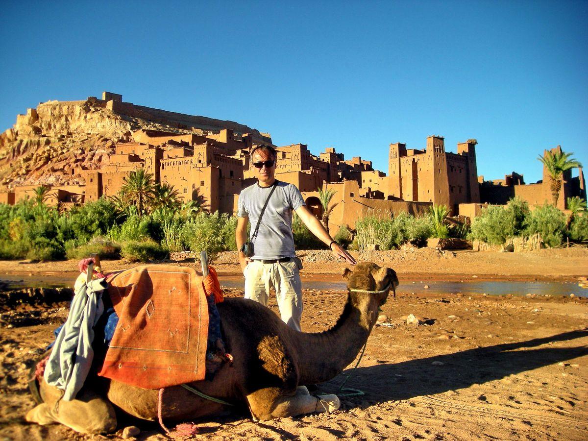 """Ait Ben Hadu, Maroko, mesto gde su snimani filmovi """"Čovek koji je hteo da bude kralj"""", """"Gladijator"""" i drugi"""