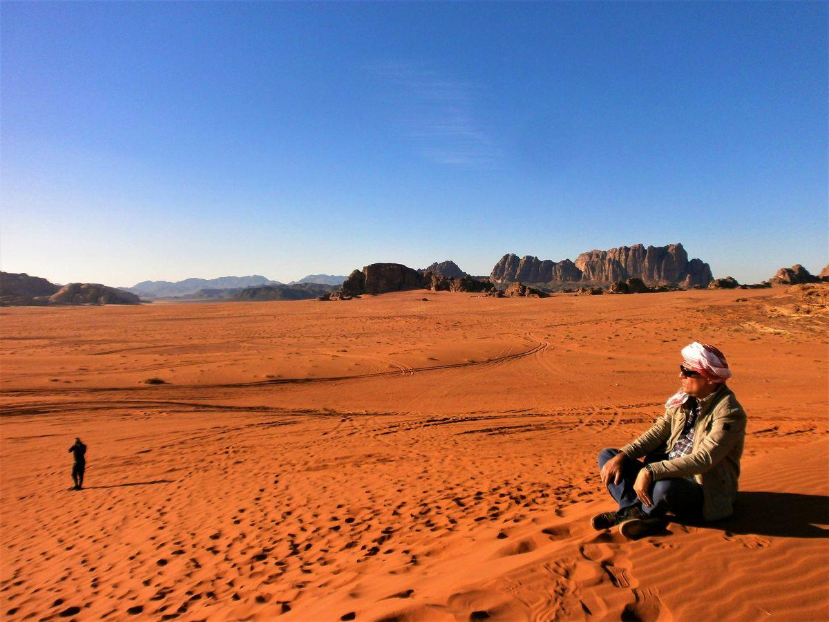 "Vadi Ram, Jordan, mesto gde su snimani ""Ratovi zvezda"", "" Marsovac""... Žikica baš voli da gleda filmove"