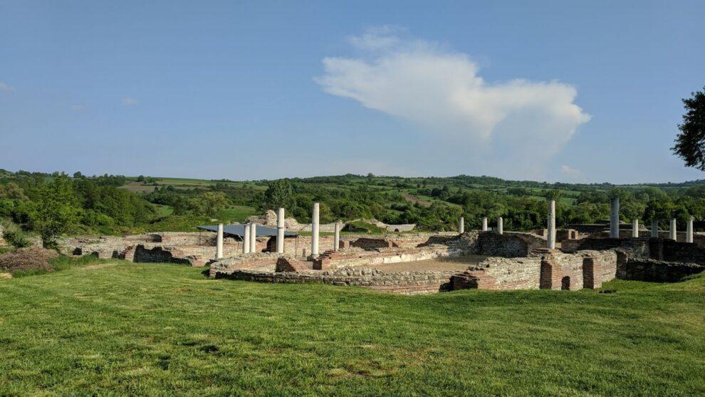 Ostaci carske palate u Gamzigradu, foto: Uroš Nedeljković