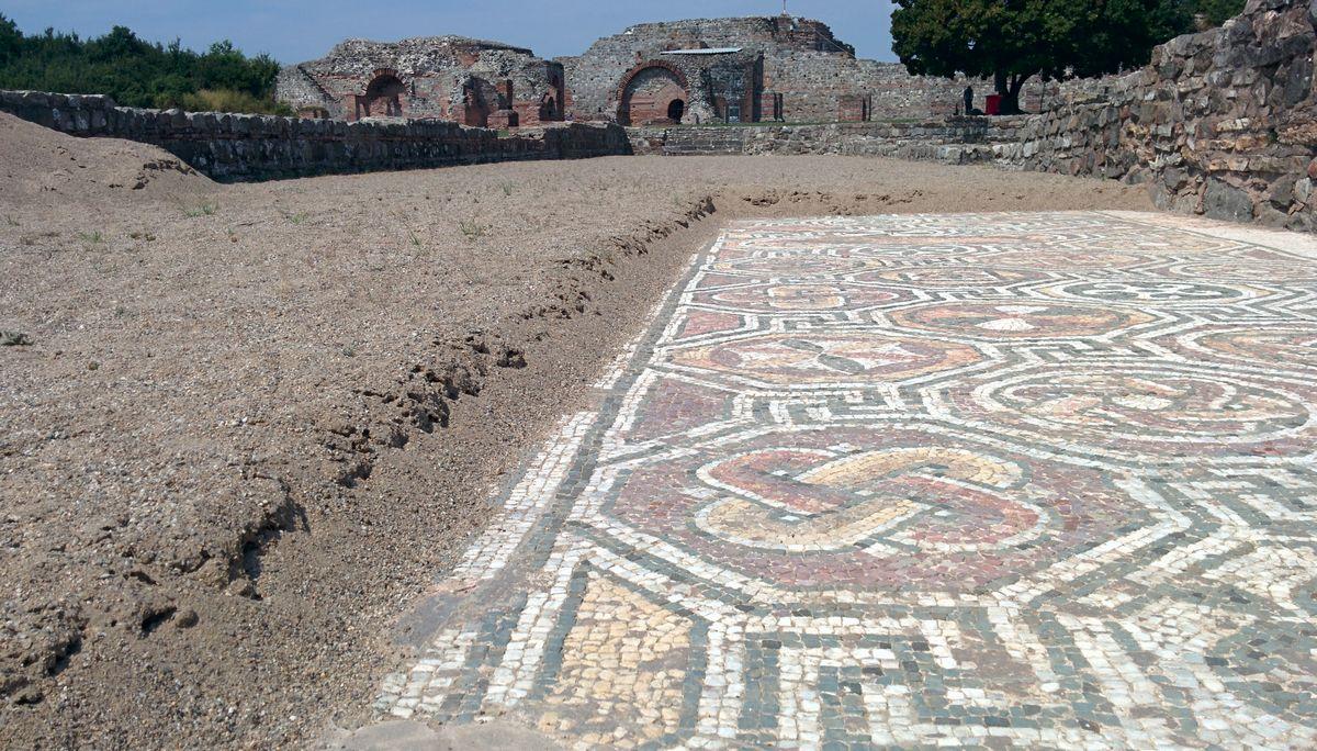 Felix Romulijana obliluje mozaicima, foto: Uroš Nedeljković