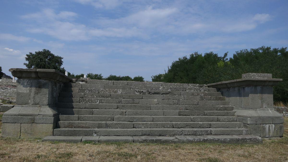 Ostaci carske rezidencije, foto: Uroš Nedeljković