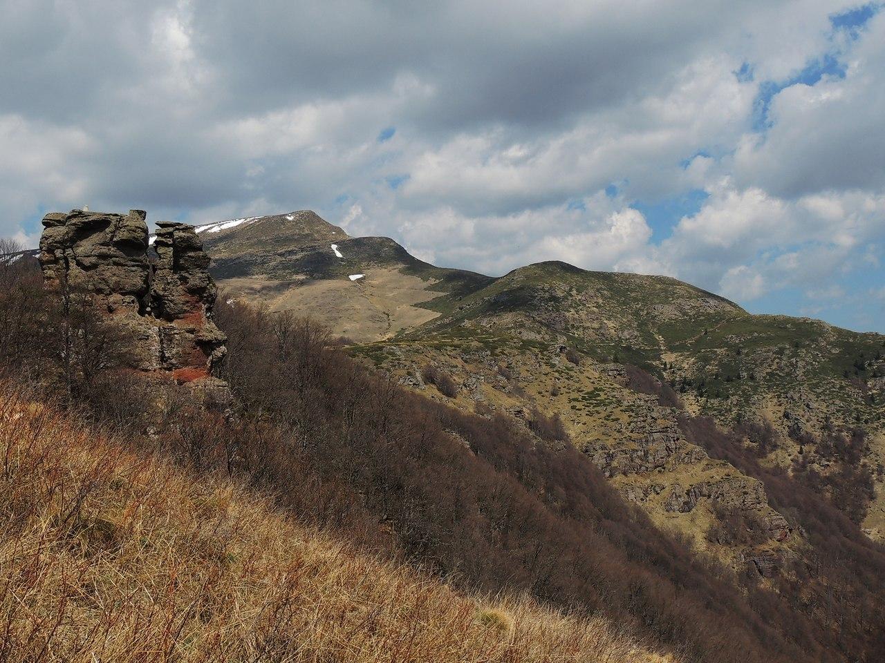 Vrh Kopren, pogled sa Širokih Luka, foto: Medenica Ivan / Wikimedia