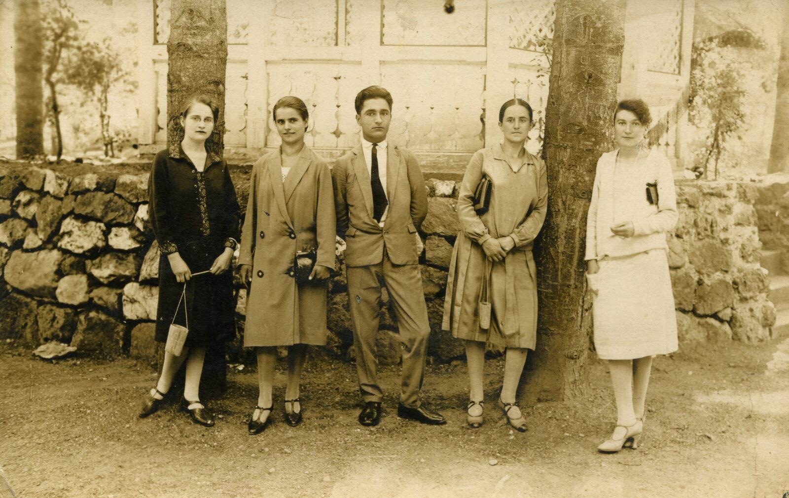 Vrnjci 1927. godine, foto Simić