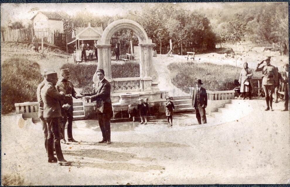 Kralj Aleksandar u Vrnjačkoj Banji