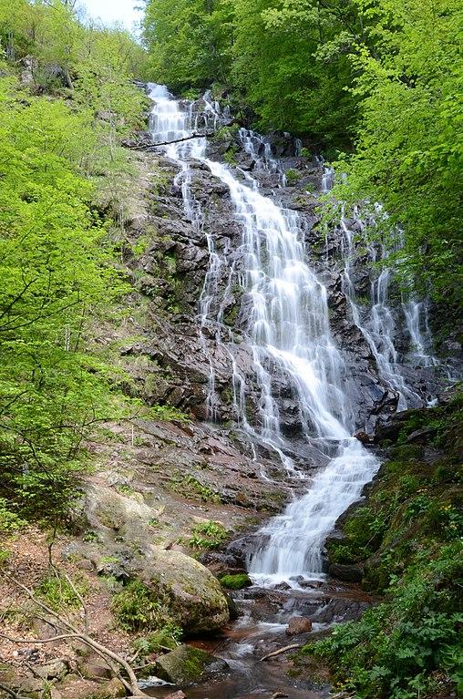 Piljski vodopad visok je 64 metra, foto: Mixapirgossi / Wikimedia