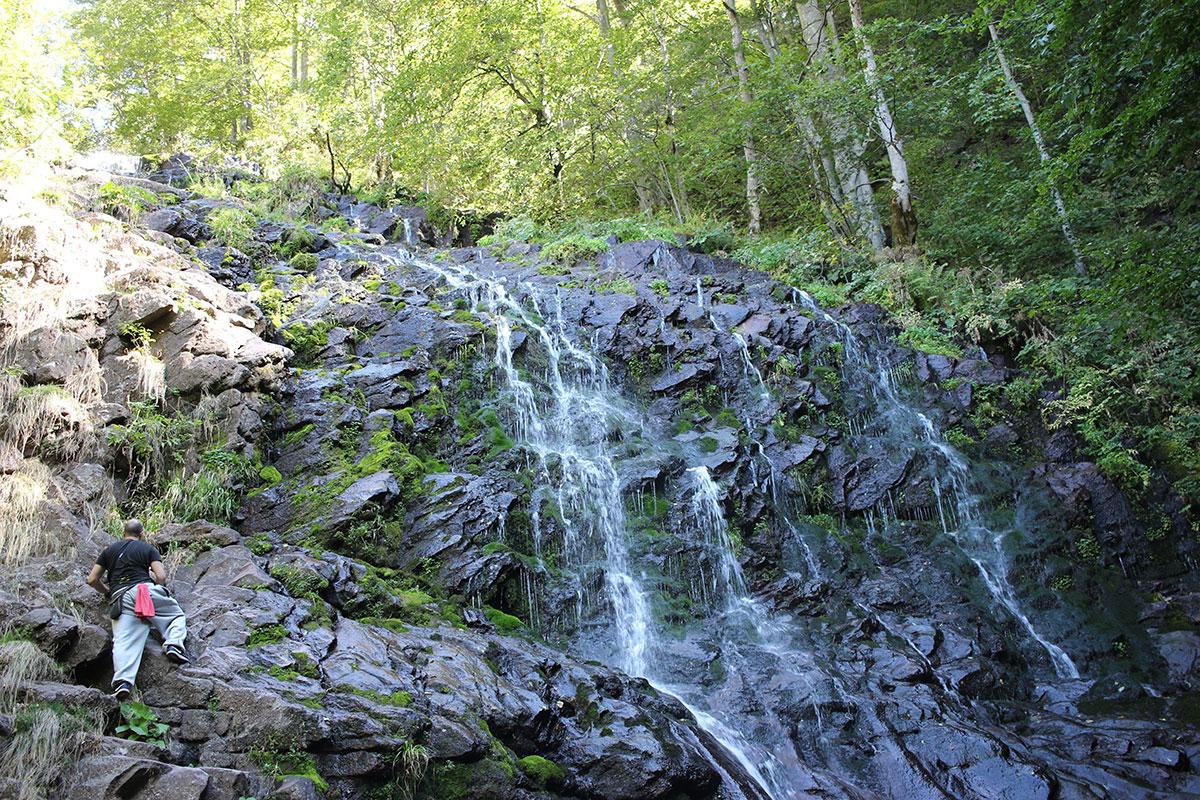 Piljski vodopad na Staroj planini, foto: Uroš Nedeljković