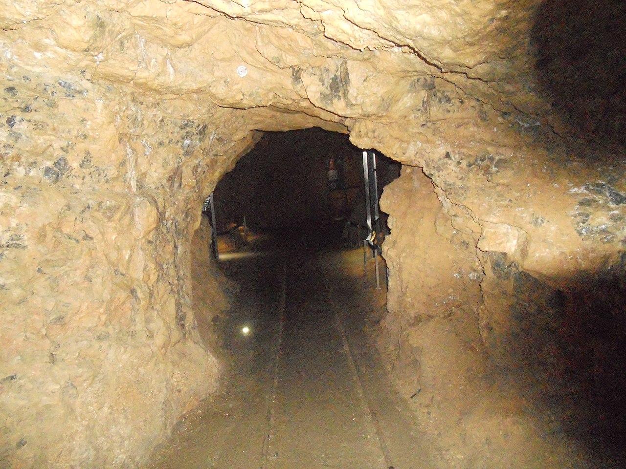 Obli zidovi Risevačke pećine ukazuju na to da je ovde nekada tutnjala voda koja ju je formirala, foto: Vanilica / Wikimedia