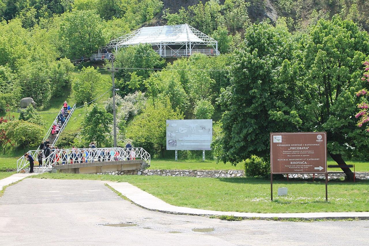 Ulaz u pećinu Risovača, foto: Vanilica / Wikimedia