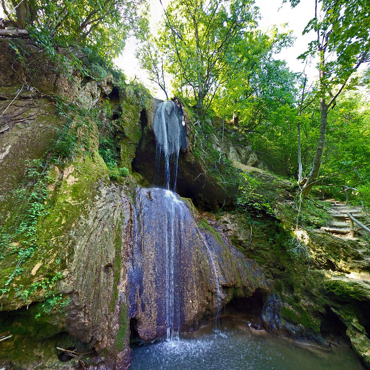 Vodopad Ripaljka nadomak Sokobanje, foto: Uroš Nedeljković
