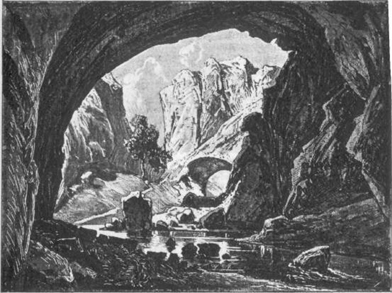 Vratna, gornja vrata na Jabuči - ilustracija iz knjige Feliksa Kanica