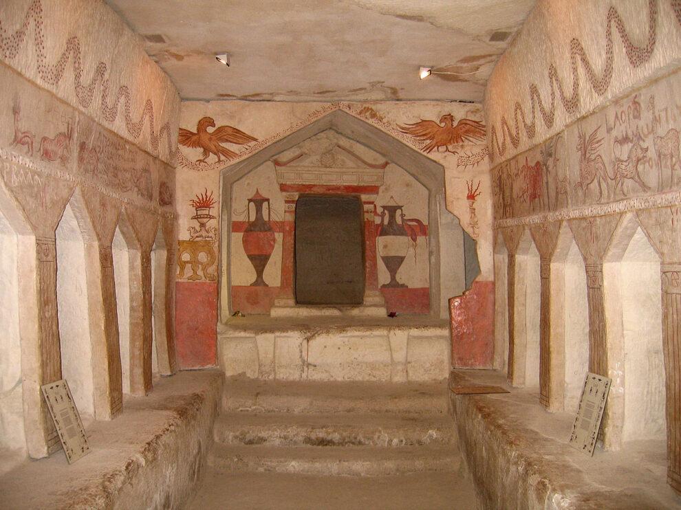 Pećine u kojima su sahranjivani pokojnici u Tel Mareši, foto: Talmoryair
