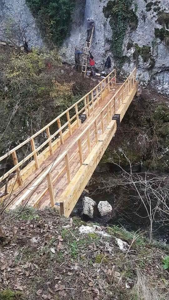 Most spaja dve divlje oaze, foto: Aleksandar Panić