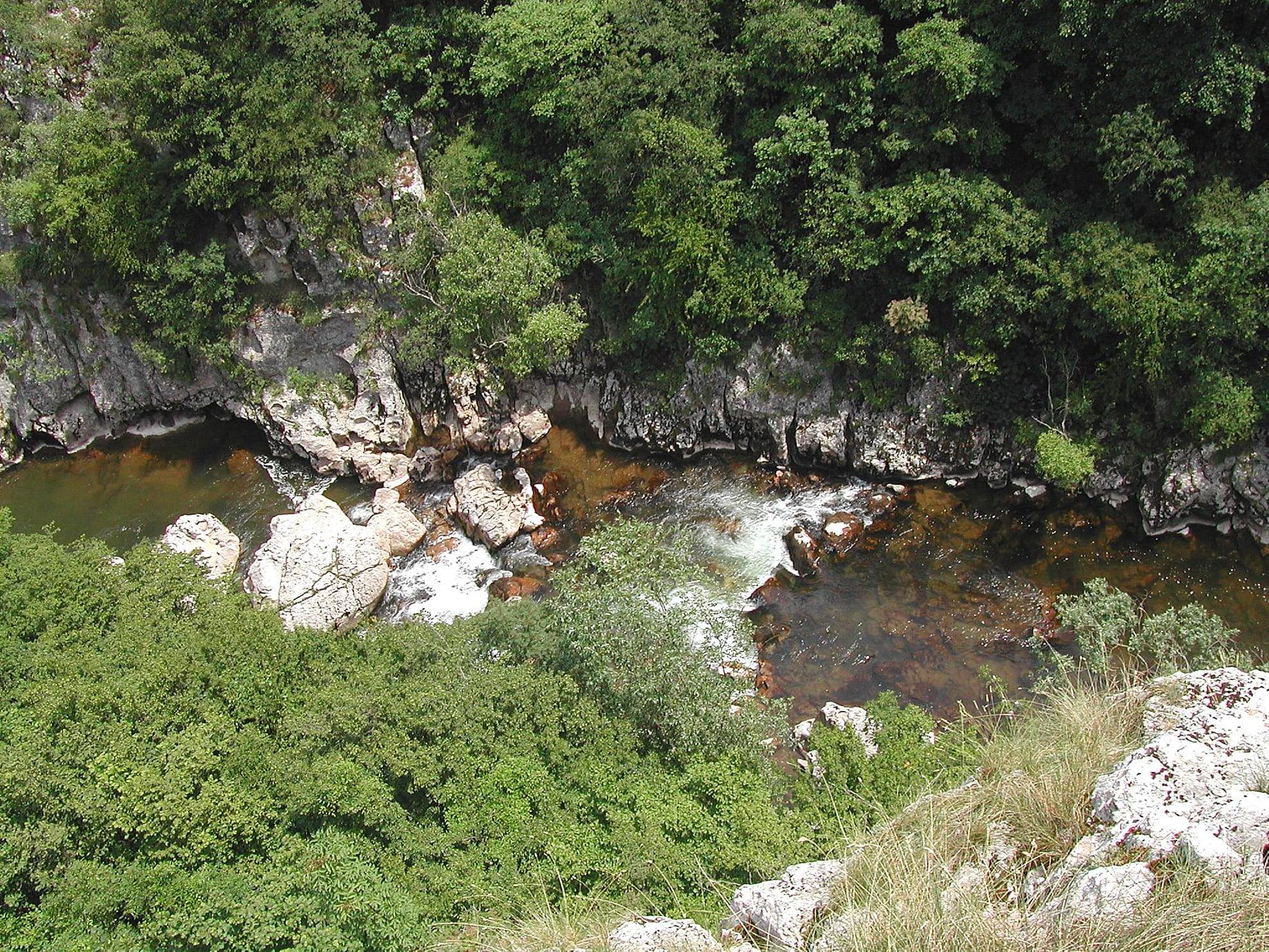 Reku Visočicu na Staroj planini sada je moguće preći novim mostom, foto: Aleksandar Panić, ORSP