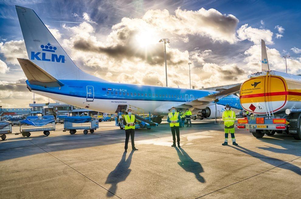 Sintetički kerozin, KLM